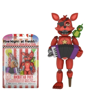 Екшън фигурa Funko Pop Games: Five Nights At Freddy's Pizza Sim – Rockstar Foxy