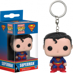Ключодържател Funko Pocket Pop DC Comics: Superman, Figure Keychain