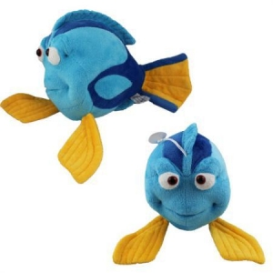 Плюшена играчка Nemo Dory Blue Fish Stuffed , 12 x 18 x 30 см