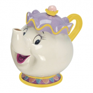 Чайник порцелан Disney 3D, Beauty And The Beast - Mrs. Potts, 24 x 17 x 20 см, 400 мл